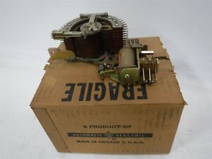 New In Box Automatic Electric Type 45 Rotary Stepping Switch N6