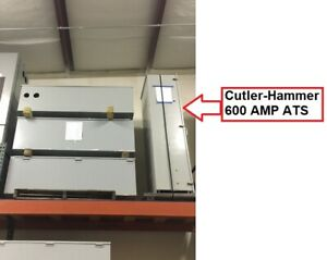 Cutler hammer 600 Amp Automatic Transfer Switch ats 208v