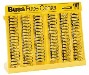 Bussmann No 500 Glass Tube And Blade Type Fuse Assortment Display 480 Fuses