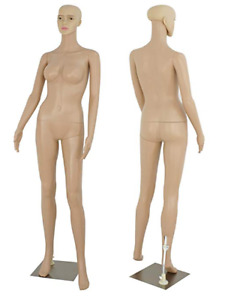 Female Full Body Realistic Mannequin With Base