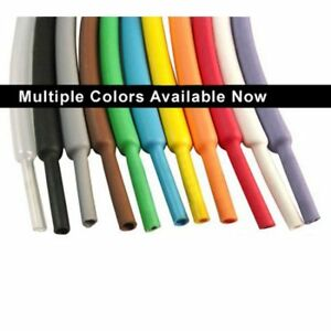 1 16 Heat Shrink Tubing 2 1 100ft clear