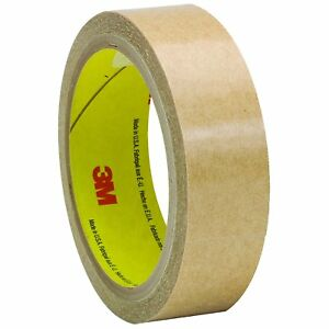 3m tm Adhesive Transfer Tape 950 Clear 1 In X 60 Yd 5 Mil 36 Rolls Per Case