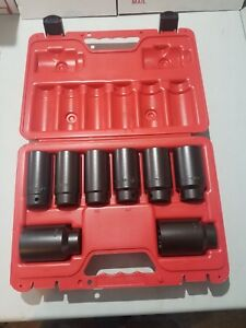Mac Tools 8 Pc 1 2 Drive Axle Nut Socket Set As4548a