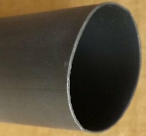 1 2 3 1 Adhesive Lined Heat Shrink Tubing 4ft piece 100ft Total Black