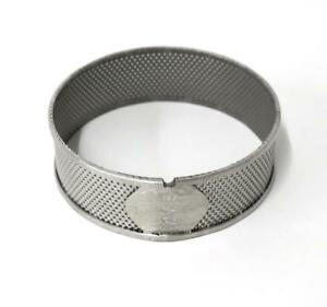 Retsch 0 5mm Stainless Steel Reinforced Ring Sieve