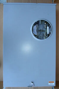 New Durham Meter Socket 320 Amp Single Phase 4 Terminal Bypass Ships Today