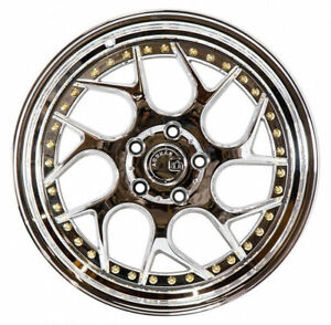 Aodhan Ds01 18x8 5 35 18x9 5 22 5x114 3 Vacuum Chrome Is300 Is250 Supra Rx7 Tl