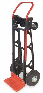Folding Dolly Hand Truck 600 Lbs Capacity Convertible Trolley Utility Push Cart