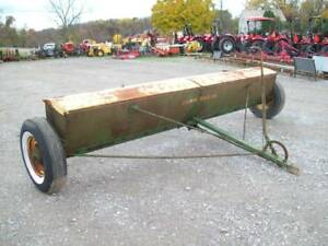 Nice John Deere Lf 12 Lime Drill Fertilizer Drill Very Good Condition