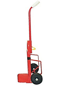 Folding Dolly Hand Truck 200 Lbs Cap W Nose Plate Extension Utility Push Cart