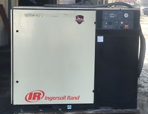 Ingersoll Rand Ssr Series 30e 40 Ssr 50 pe 1x5267 Air Compressor 50hp