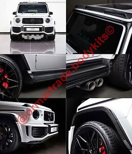 Carbon Fibre Full Body Kit For Mercedes Benz G Class W463a W464 Since 2018