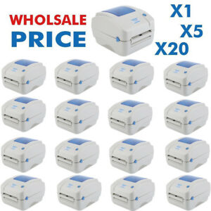 Wholesale Lot 1 20pcs Xp 490b Zp450 Thermal Label Barcode Shipping Printer Mk