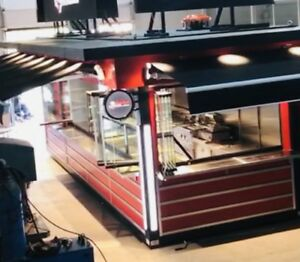 Outdoor Food Kiosk mobile Restaurant Food Cart coffee Ice Cream Shop concession