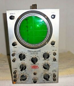 Vintage Eico Oscilloscope Dc Wide Band Model 460 Untested Parts repair