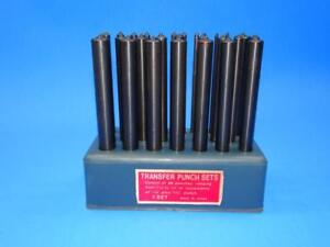 Pittsburgh Transfer Punch Set 28 Pc