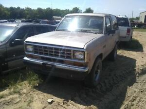 Trunk hatch tailgate Non heated Movable Glass Fits 84 90 Bronco Ii 267879