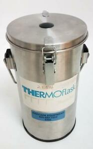 Thermolyne Thermo flask 2 L Dewar Benchtop Liquid Nitrogen Container 2123 6496