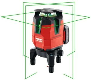 Hilti Pm 40 mg Multi line Green Indoor Hand Tool Laser Level Layout Heavy Duty