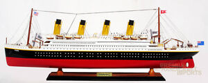 32 Rms Titanic Model Ship Handcrafted By Master Craftsmen