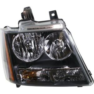Right Headlamp For 2007 2014 Chevy Gmc Chevy Suburban Avalanche Tahoe