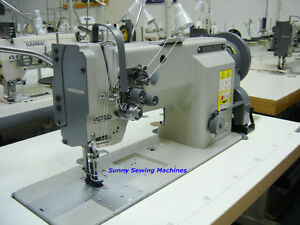 Highlead Gc20618 2 Fully Assembled Double Needle Upholstery Sewing Machine 3 8