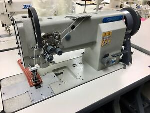 Consew P2339rb Double Needle Upholstery Walking Foot Sewing Machine 3 8