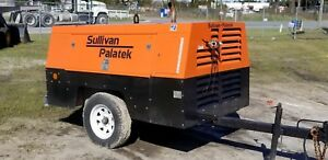 Sullivan Towable Air Compressor 185cfm d185pjdsb