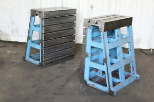 2 39 3 8 High X 31 Wide G L T slotted Angle Plates Yoder 70512