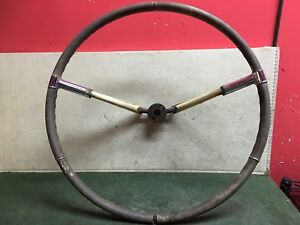1957 1958 Cadillac Deville Fleetwood Eldorado Original Factory Steering Wheel