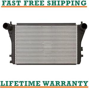 Intercooler For 09 15 Volkswagen Jetta Audi Tt Quattro 1 8l 2 0l Direct Fit