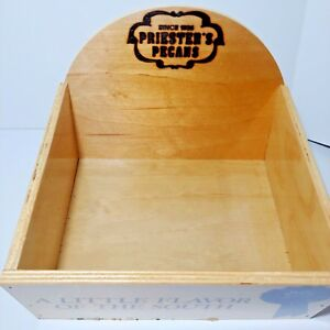 Wood Display Box Counter View Top Retail Portable Merchandise Advertising