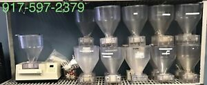 Edhard F 5001 6 Qt Clear Double Spout For Donut Pastry Filler Unit Used