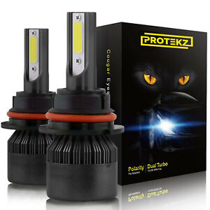 Protekz Led Fog Light Kit H8 6000k Cree For 2015 2016 Ford Focus