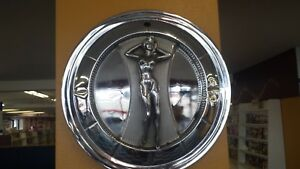 Rare Vintage Original Nude Naked Lady Woman Hub Cap Wheel Cover Hot Rod Car