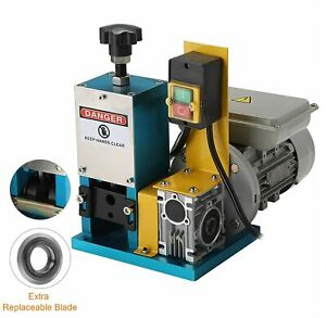 Electric Wire Stripping Wire Stripping Machine For Scrap Copper Recycling