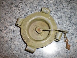 Jerry Gas Can Us Military 5 Gallon Cap With Hanger Chain Made In Usa Lid Rieke