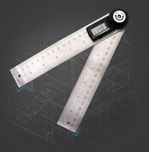 Digital Protractor Inclinometer Electronic Angle Gauge Level Measuring Tools New