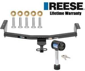 Reese Trailer Tow Hitch For 08 19 Nissan Rogue 1 1 4 Receiver W Security Lock