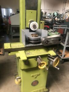Gear Shaper Cutter Sharpener Surface Grinder Mode Reid L 618h With Rotary Table