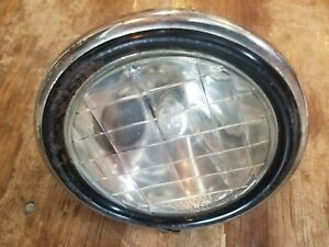 Cowl Light Mid Teens Liberty Lens 4748 W Side Light Vintage Large Grey
