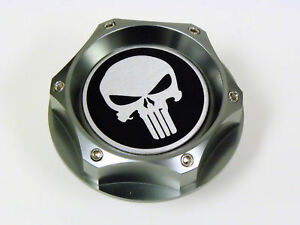 Dodge The Punisher Billet Engine Oil Cap Gunmetal New