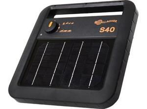 Gallagher S40 Solar Fence Energizer 0 4 Joule
