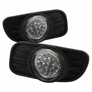 Spyder Auto Led Fog Lights W Switch For 1999 2004 Jeep Grand Cherokee 5015693