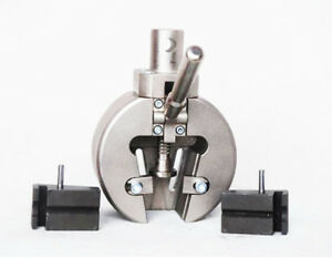 A Pair Of Electronic Universal Testing Machine Clamp Batteries Jig