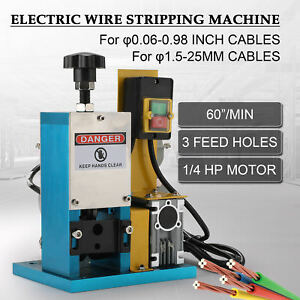 Portable Wire Stripping Machine Scrap Cable Stripper For Scrap Copper Recycling