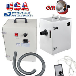 Usa Dental Lab Dust Collector Collecting Unit Powerful Motor Vacuum Cleaner