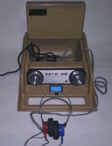 Maico Model Ma 27 Portable Screening Audiometer Complete Unit Tested