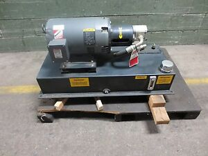Hydraulic Pump Unit 10 Hp 3 Phase Baldor Electric Motor Casaappa Pump