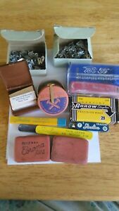 Vintage Office Supplies Schaeffer Fineline Corona Eagle Arrow Tot Noesting Lot